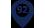 92 города поставки